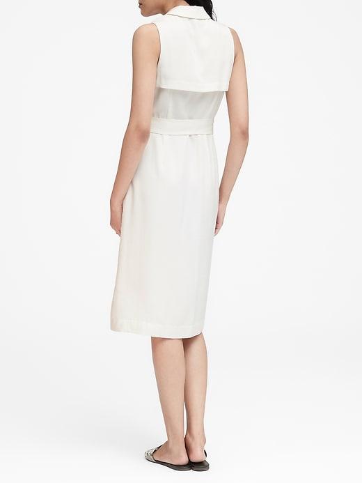 TENCEL&#153 Trench Dress