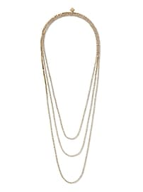 Classic Rebel Cup Chain Layer Necklace