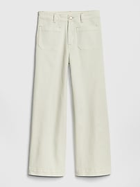 High Rise Mariner Wide-Leg Jeans