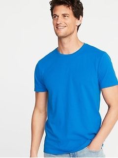 9381e169f8 Soft-Washed Perfect-Fit Crew-Neck Tee for Men