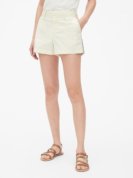 """3"""" City Shorts with Embroidered Side-Stripe"""