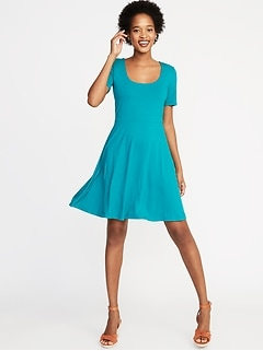 Turquoise Blue Dresses at Stores