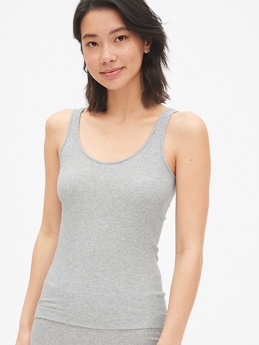 First Layer Essentials Ribbed Tank Top