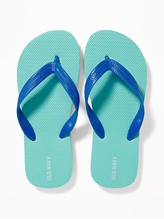 24b6f6f40 Solid-Color Flip-Flops for Boys