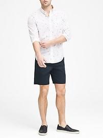Standard-Fit Luxe Poplin Shirt