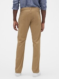 Twill Pants in Slim Stretch with GapFlex
