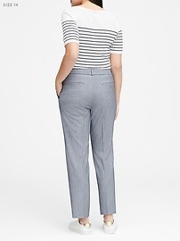 Ryan Slim Straight-Fit Washable Pant
