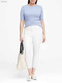 High-Rise Skinny Cropped Jean
