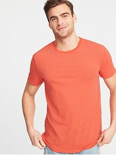 1c8601c388 Soft-Washed Perfect-Fit Crew-Neck Tee for Men