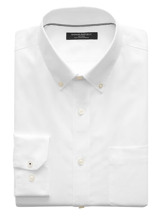 Chemise oxford extensible sans repassage, coupe Camden standard