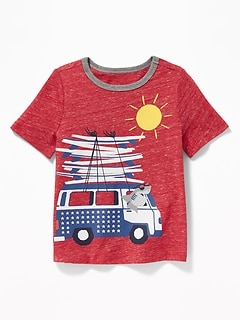 e765ce28ff2d Americana-Graphic Tee for Toddler Boys
