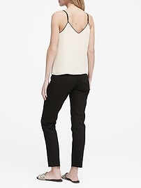 Strappy Camisole with Piping
