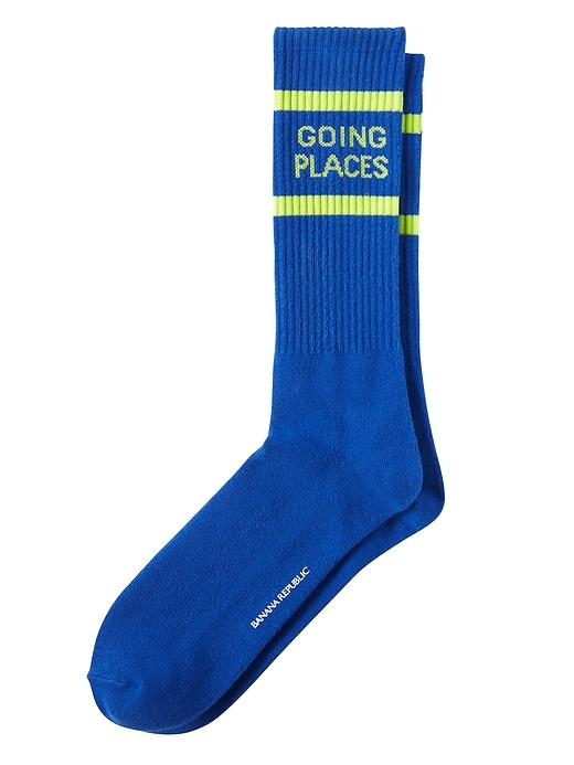 Going Places Athletic Sock