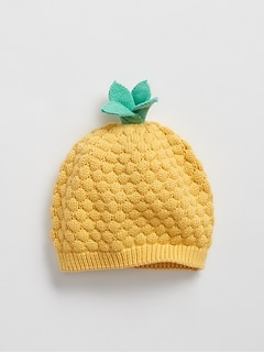 6030b362 Baby Pineapple Print Chambray Baseball Hat. CA$22.95. Baby Pineapple Garter  Beanie