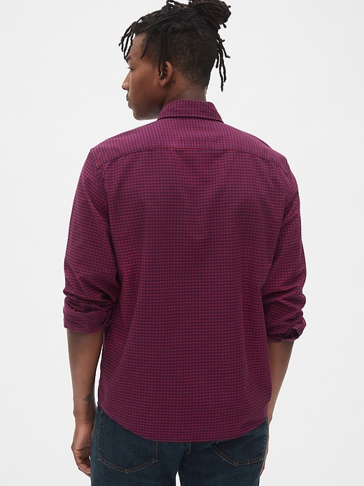 Lived-In Stretch Oxford Shirt in Untucked Fit