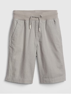 c04fde129 Kids Linen Pull-On Shorts