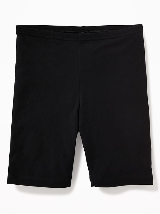 Mid-Length Biker Shorts For Girls