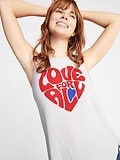 "Luxe ""Love For All"" Graphic Swing Women's Tank"