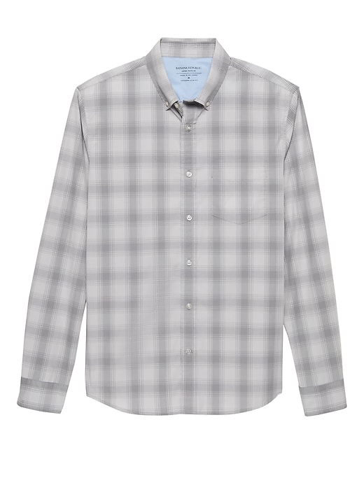 Untucked Slim-Fit Luxe Poplin Shirt