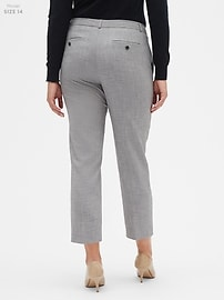 Washable Avery Grey Suit Pant