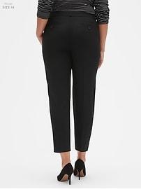 Washable Avery Classic Black Suit Pant