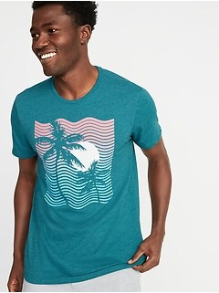 71aea4df Soft-Washed Graphic Tee for Men