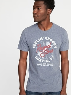 adced1ff1 Soft-Washed Graphic Tee for Men