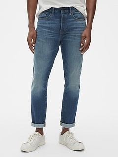 0a33141e2 Skinny High Roller Jeans with GapFlex