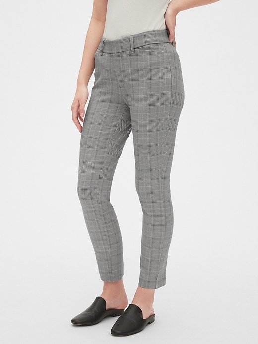 Curvy Skinny Ankle Pants with Secret Smoothing Pockets