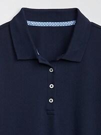 Kids Uniform Stretch Short Sleeve Polo Shirt