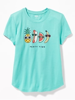 9b929782 Graphic Crew-Neck Tee for Girls