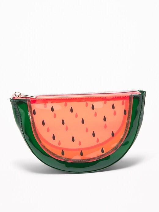 Étui pour cosmétiques en forme de fruit