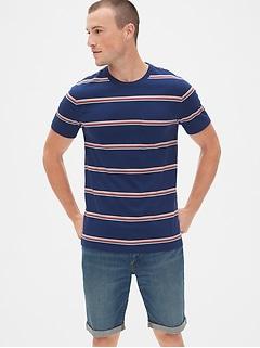 33a70ed5da Stripe Pocket T-Shirt