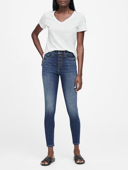SUPIMA® Cotton V-Neck T-Shirt