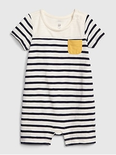 792a596fd Baby Stripe Shorty One-Piece