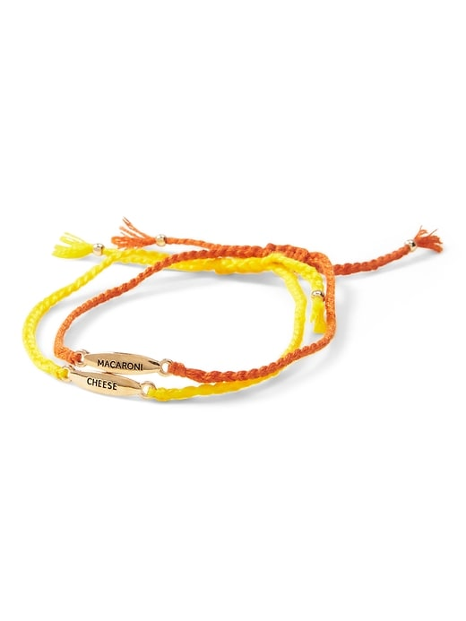 Mac & Cheese Slider Bracelet