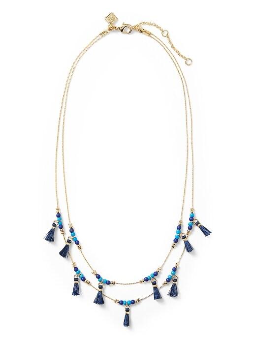 Summer Friday Tassel Necklace