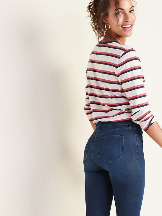 Mid-Rise Rockstar Built-In Sculpt Jeans for Women