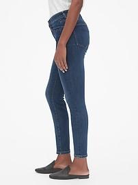Mid Rise Curvy True Skinny Jeans
