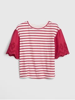 6fe166a5 Girls' T-Shirts & Tops | Gap