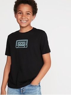 1ee8684e Graphic Crew-Neck Tee for Boys