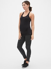 Maternity GapFit Breathe Strappy Shelf Tank
