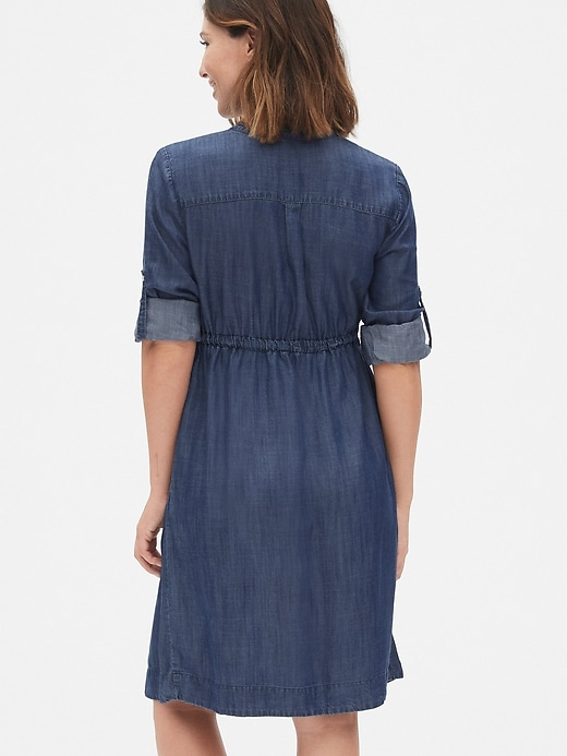 Maternity Shirtdress in TENCEL&#153