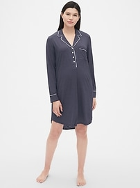 Maternity Print Sleep Shirt