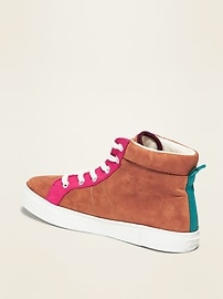 Faux-Suede High-Tops for Girls