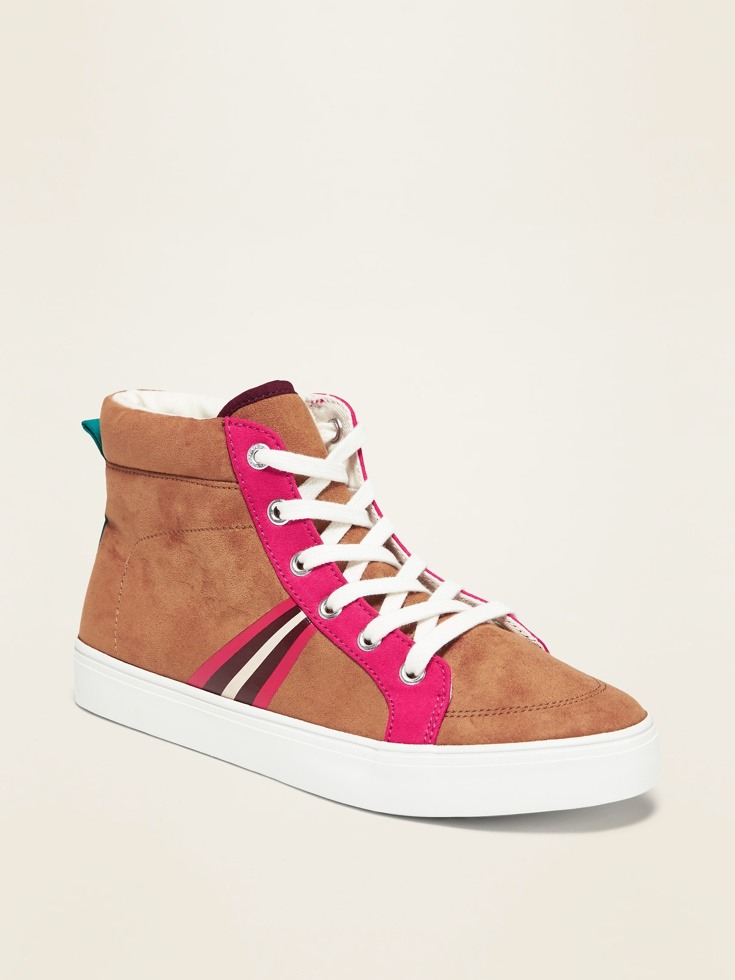 Faux-Suede High-Tops for Girls   Old Navy