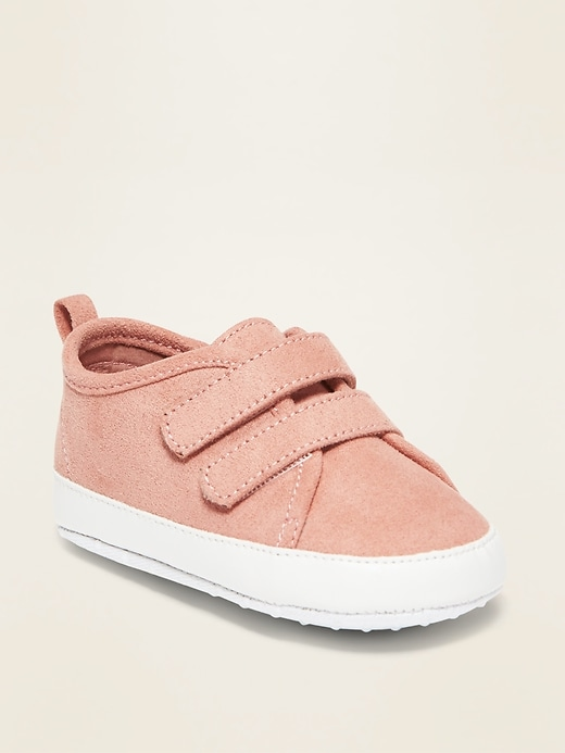 Faux-Suede Double-Strap Sneakers for Baby