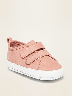 Oldnavy Faux-Suede Double-Strap Sneakers for Baby