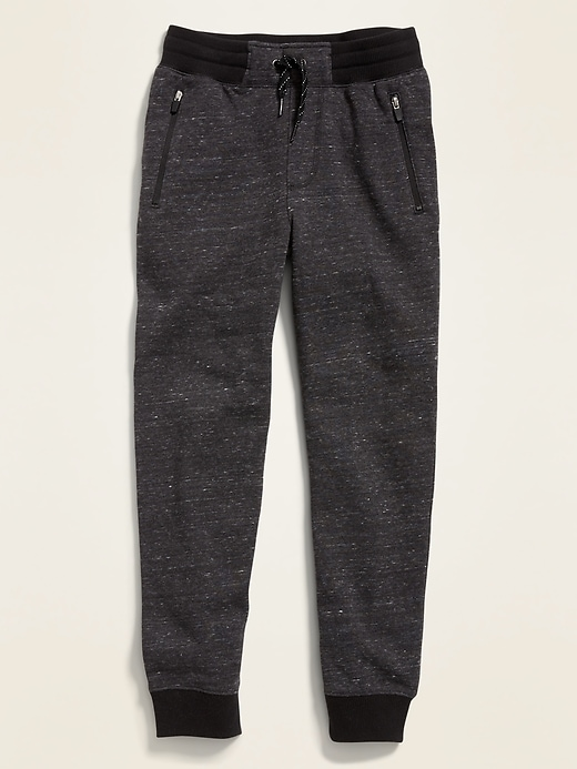 Zip-Pocket Joggers for Boys