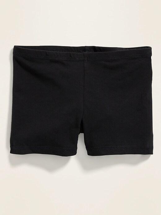 Jersey Biker Shorts For Girls